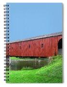 Kissing Bridge Of West Montrose Spiral Notebook