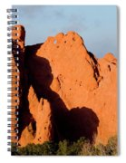 Kissing Camels Formation At Garden Of The Gods Spiral Notebook