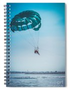 Kissing Over The Ocean Spiral Notebook