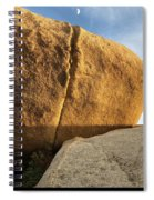 Kissing The Moon  Spiral Notebook