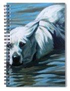 Kita Swimming The Platte Spiral Notebook