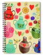Kitchen Gourds Spiral Notebook