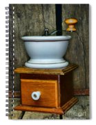 Kitchen - Retro Coffee Maker Spiral Notebook