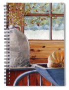Kitchen Scene Spiral Notebook