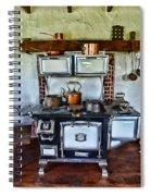 Kitchen - The Vintage Stove Spiral Notebook