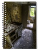 Kitchen With A Loo Spiral Notebook