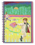 Kite Day Spiral Notebook