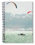 Kiteboarding In The San Francisco Bay Spiral Notebook