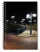 Kittamaqundi Nights - Fountain Stairway Spiral Notebook