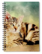 Kitten - Painting Spiral Notebook