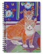 Kittens With Wild Wool Spiral Notebook