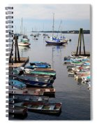 Kittery Point Fishing Boats Spiral Notebook