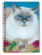 Kitty Coiffure Spiral Notebook