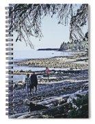 Kitty Colemans Beach - Bc Spiral Notebook