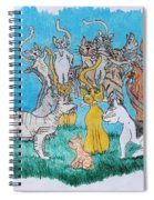 Kitty Confusion Spiral Notebook