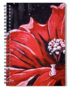 Kitty Flower Spiral Notebook