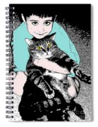 Kitty Loves Me Spiral Notebook