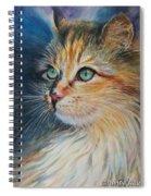 Kitty  Spiral Notebook