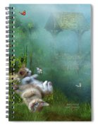 Kitty Wishes Spiral Notebook