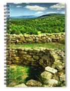 Kiva And View Pecos Ruins New Mexico Spiral Notebook