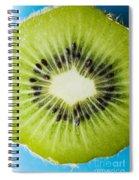 Kiwi Cut Spiral Notebook