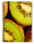 Kiwi Fruit Spiral Notebook