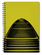 Kk100 Shenzhen Skyscraper Art Yellow Spiral Notebook