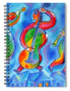 Klezmer On The Roof Spiral Notebook