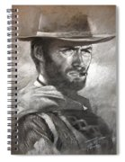 Klint Eastwood Spiral Notebook