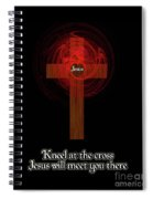 Kneel At The Cross Spiral Notebook