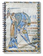 Knight And Monster Spiral Notebook