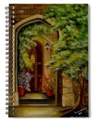 Knight's Door Spiral Notebook