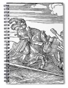 Knights: Jousting, 1517 Spiral Notebook