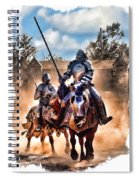 Knights Of Yore Spiral Notebook