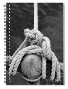 Knot On My Warf Iv Spiral Notebook