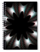 Knotplot 10 - Use Red-cyan 3d Glasses Spiral Notebook