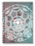 Knotplot 3 - Use Red-cyan 3d Glasses Spiral Notebook