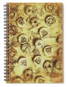 Knots And Buttons Spiral Notebook