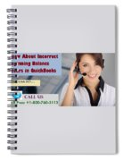 Know About Incorrect Beginning Balance Occurs In Quickbooks Spiral Notebook