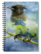 Knowing It Has Wings Spiral Notebook