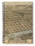 Knoxville Tennessee 1871 Spiral Notebook