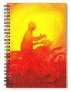 Koala Lumpur Sunset Spiral Notebook