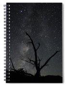 Kodachrome Basin Night Sky 2957 Spiral Notebook