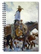 Koerner: Cowboy, 1920 Spiral Notebook