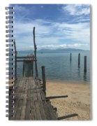 Koh Samui Pier Spiral Notebook