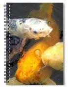Koi Fish 5 Spiral Notebook