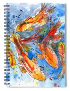 Koi Dreaming Spiral Notebook