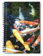 Koi Fish 2 Spiral Notebook