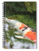 Koi Fish Spiral Notebook