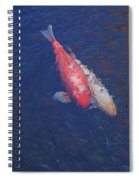 Koi Fish Partners Spiral Notebook
